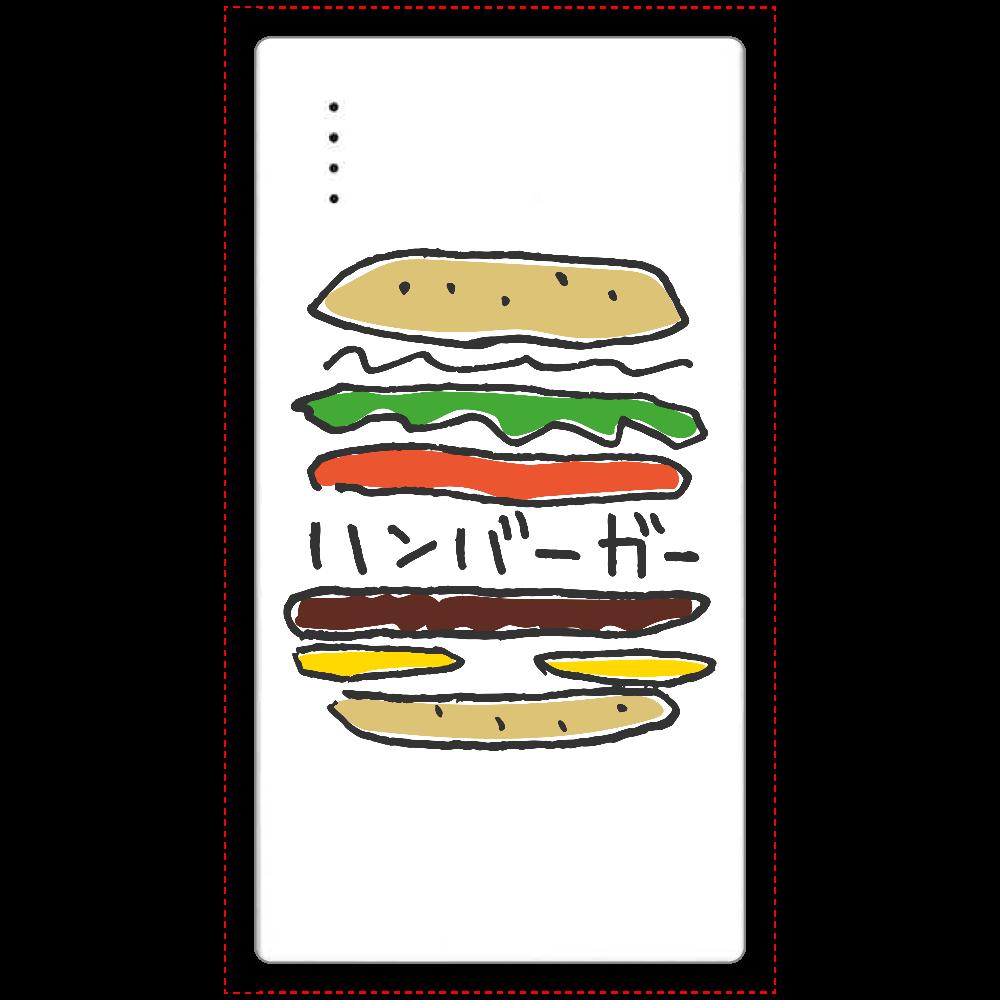 ハンバーガー_カラフル cheero モバイルバッテリー(5000mAh)