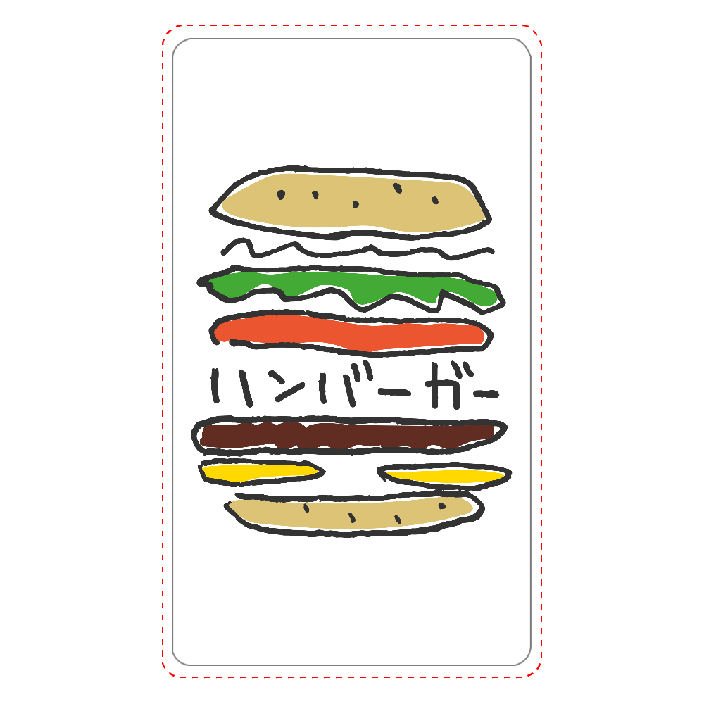 ハンバーガー_カラフル インジケータ無バッテリー4000mAh