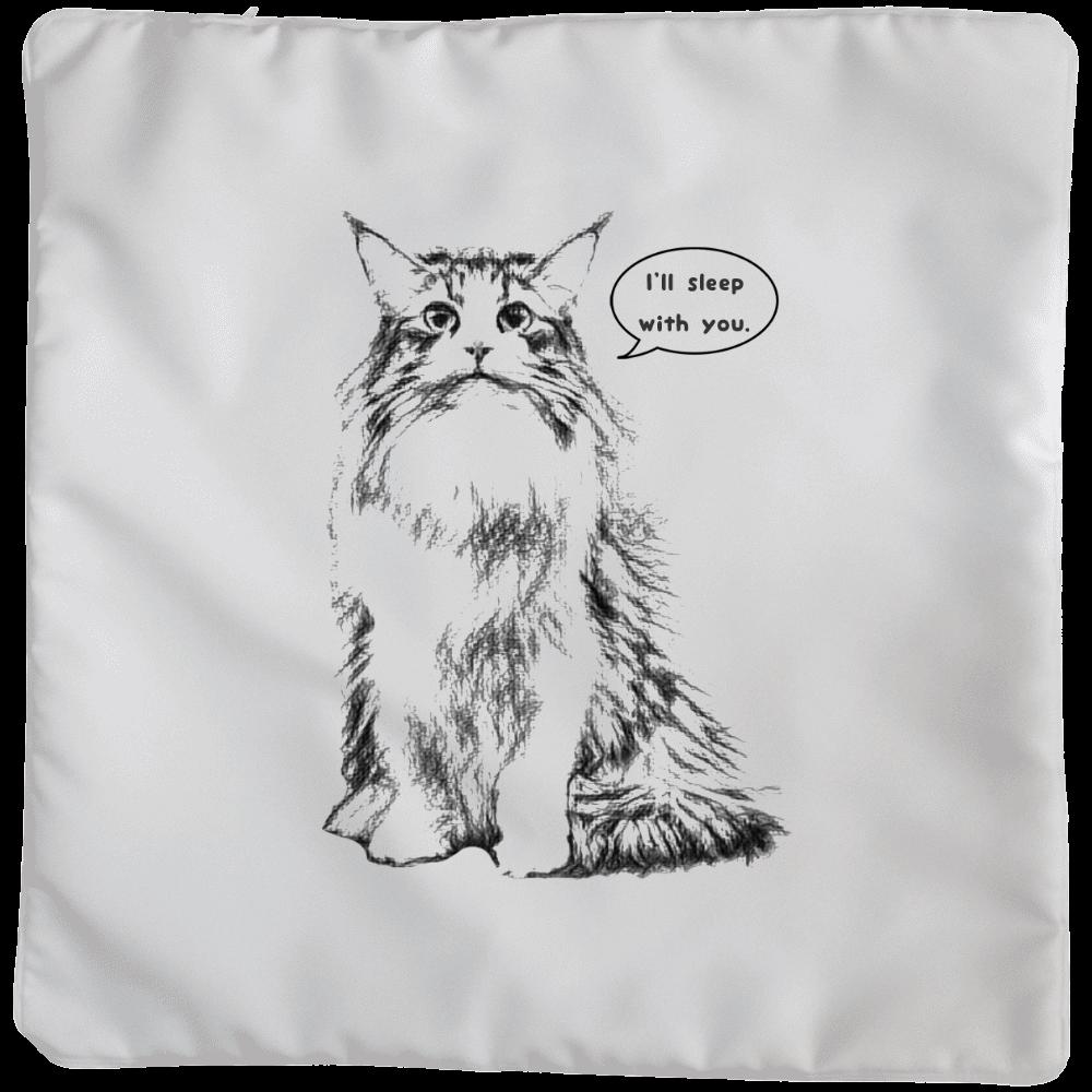 Norwegian Forest Cat (ノルウェージャンフォレストキャット) クッションカバー(大)カバーのみ