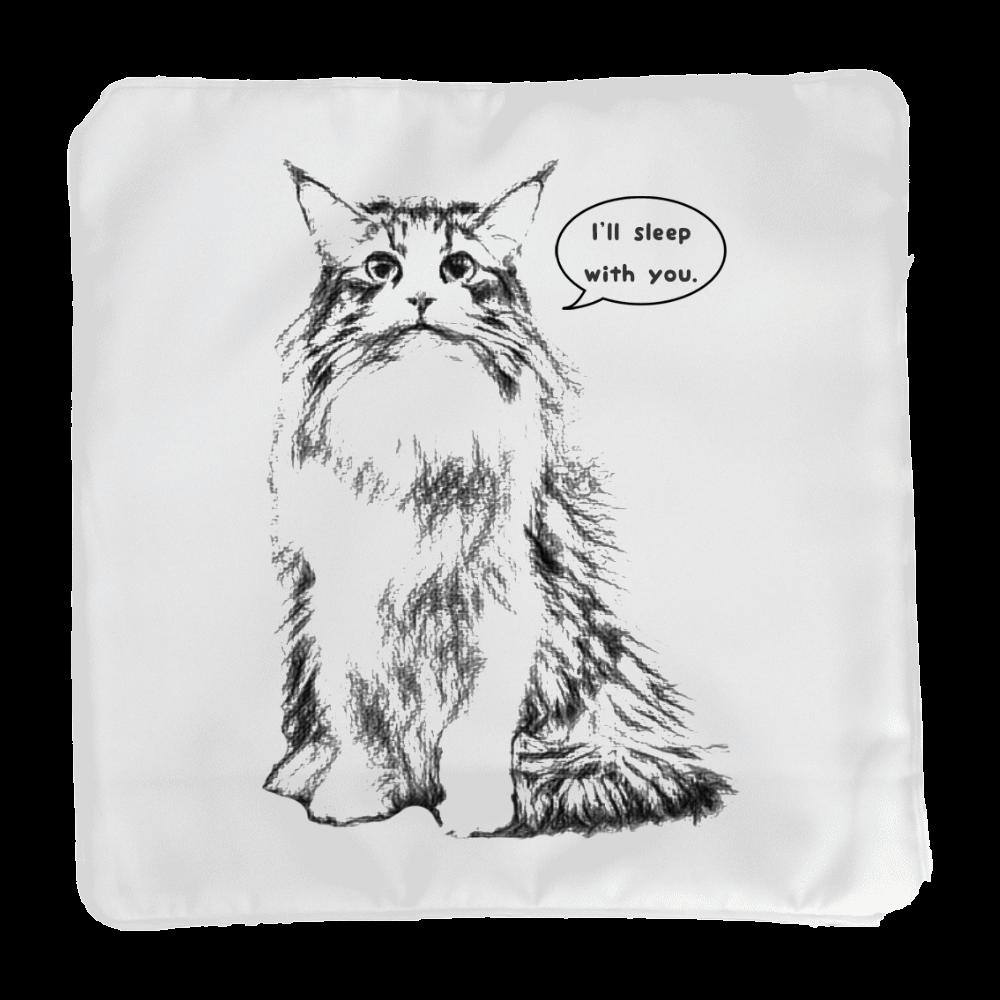 Norwegian Forest Cat (ノルウェージャンフォレストキャット) クッションカバー(小)カバーのみ
