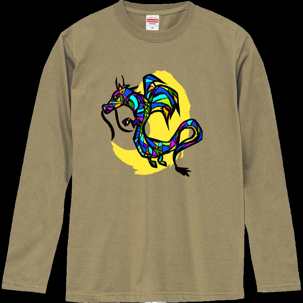 Glass Dragon (辰年用) ロングスリーブ ロングスリーブTシャツ