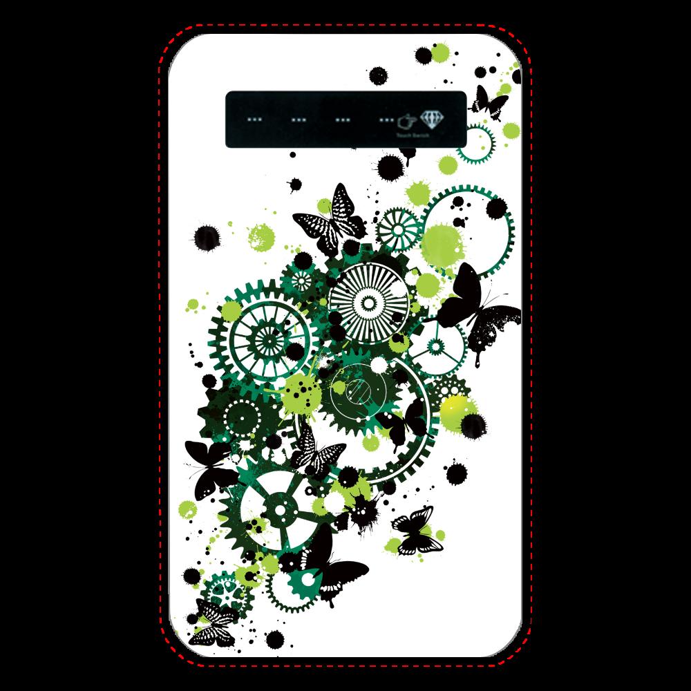 歯車蝶緑 インジケータ有バッテリー4000mAh