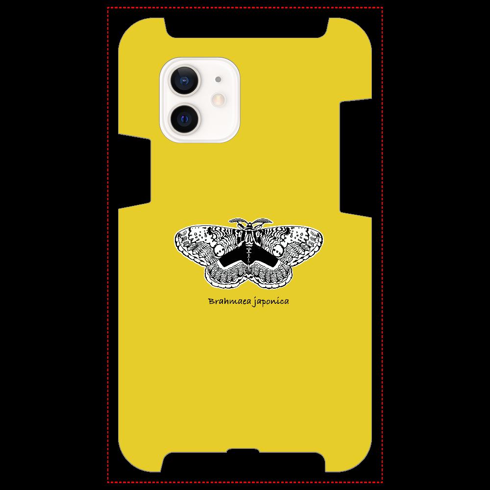 Brahmaea japonica マスタード iPhone12 / 12 Pro
