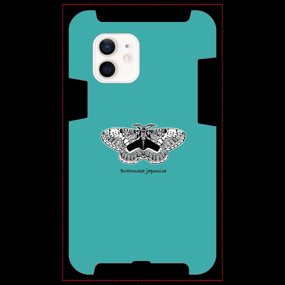 Brahmaea japonica ターコイズ iPhone12 / 12 Pro