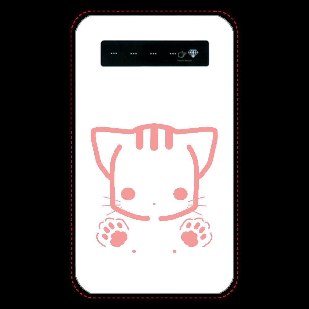 猫(顔+足) インジケータ有バッテリー4000mAh