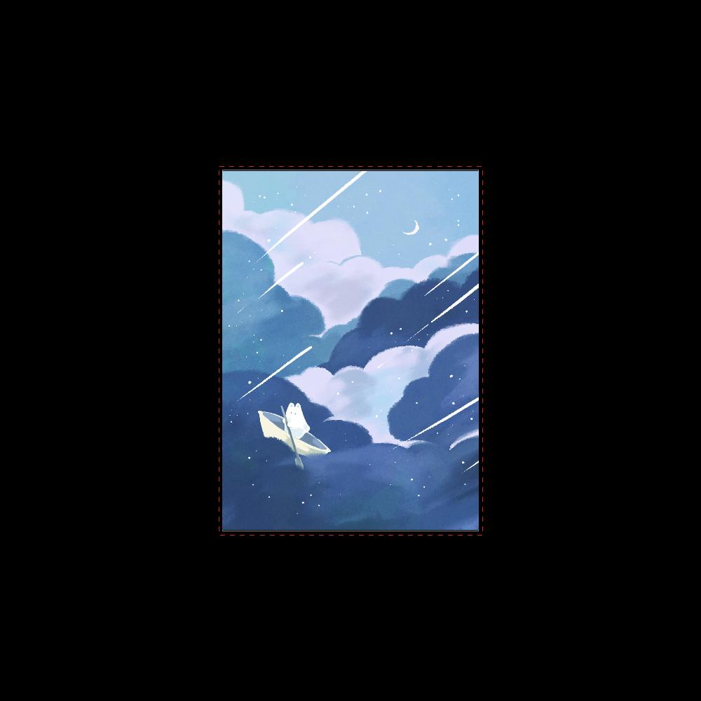 夜空の船旅ノート B5ノート