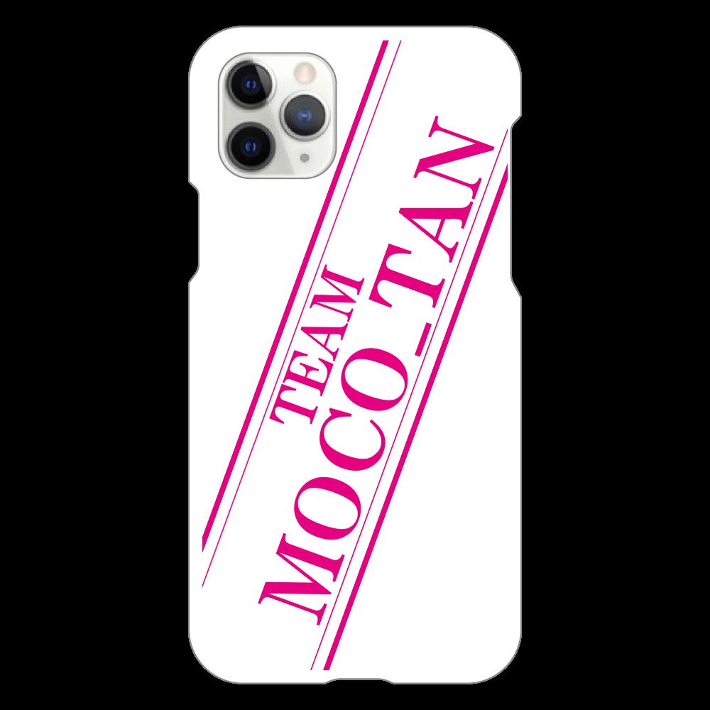 チームもこたん オリジナルiPhone11Proケース iPhone11 Pro(白)