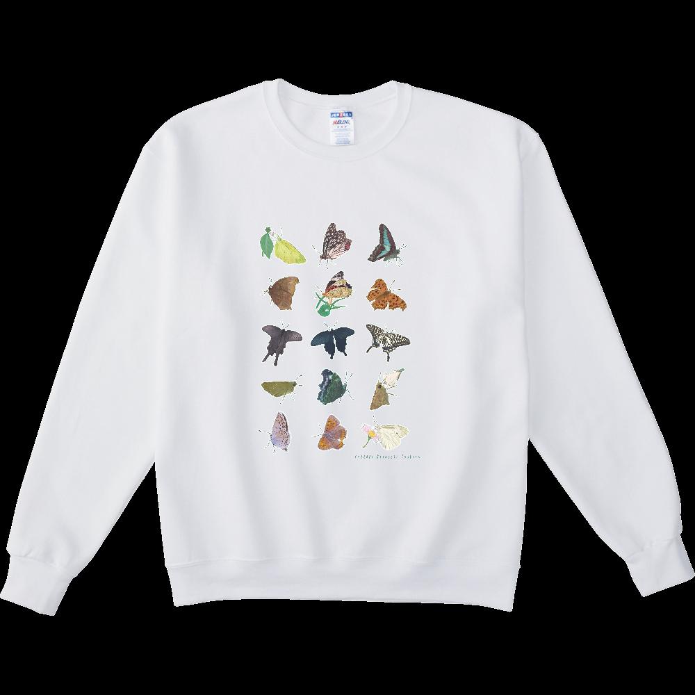 蝶のおもいで NUBLENDスウェットシャツ