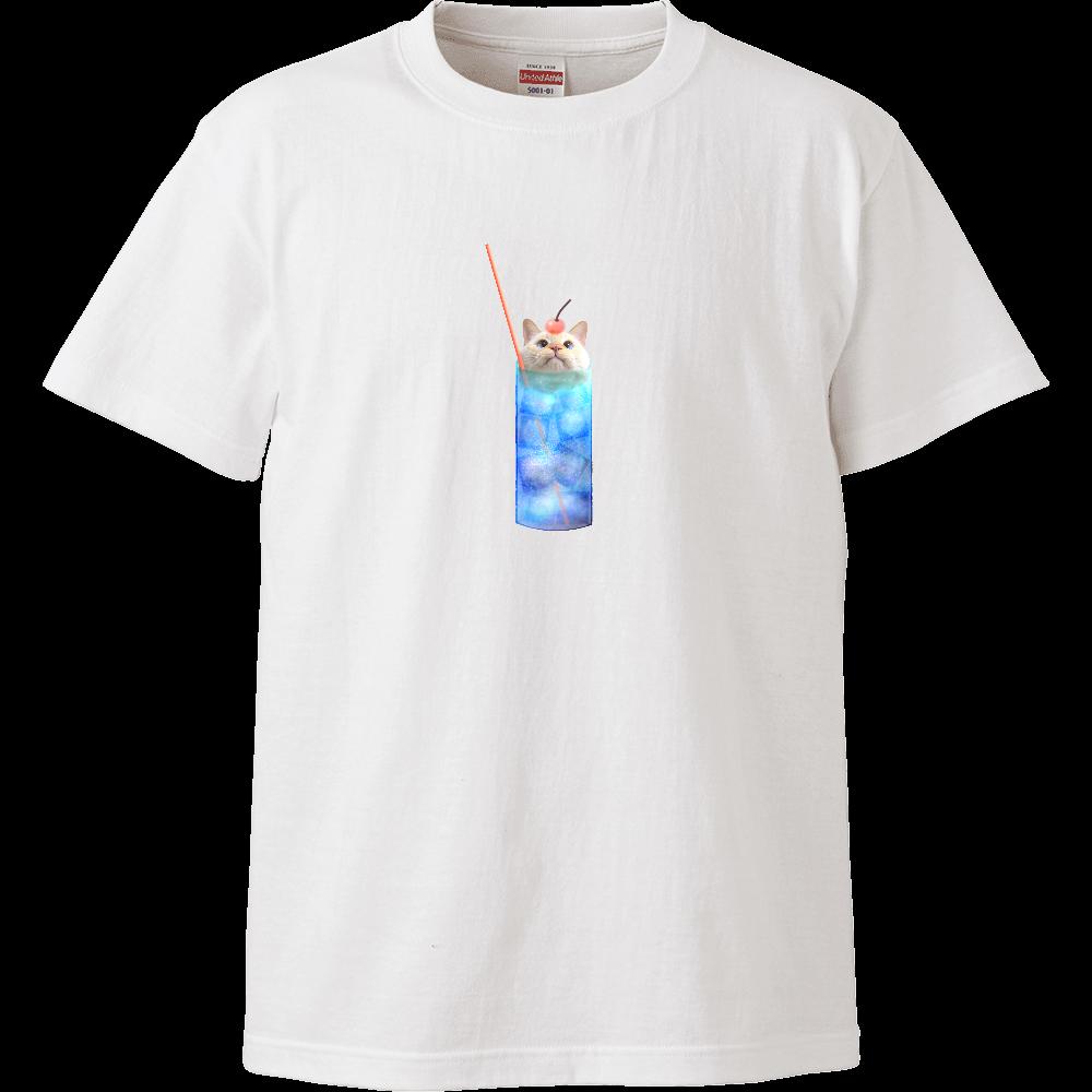 クリームソーダなまりおちゃんのTシャツ ハイクオリティーTシャツ