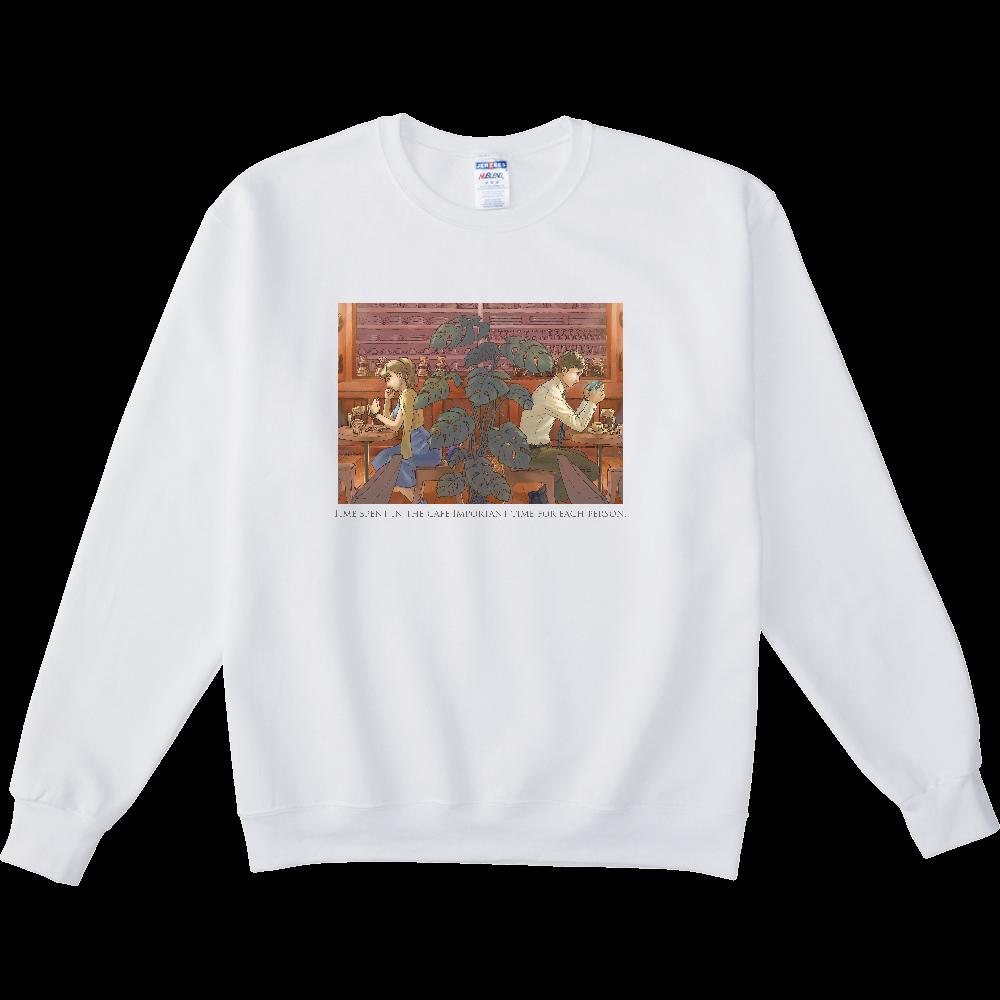 カフェ NUBLENDスウェットシャツ