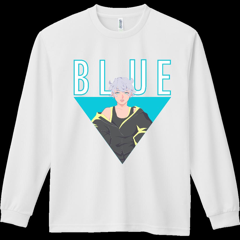 BLUE(長袖Tシャツ) ドライ長袖Tシャツ