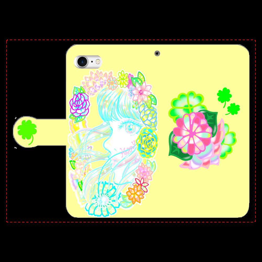 可愛い子⭐️iPhoneケース iPhoneSE2 手帳型スマホケース