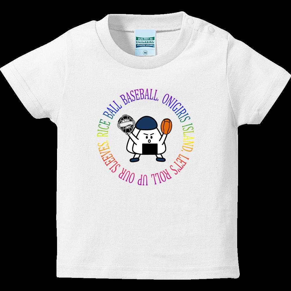 90 CATCHER ( レインボーサークル ) ハイクオリティーベビーTシャツ