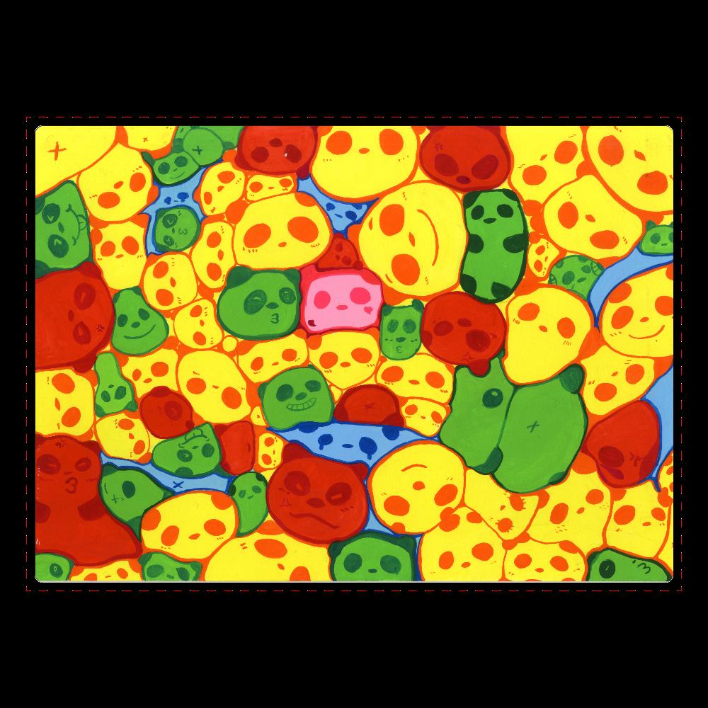 【マーブル・カラー・パンダ】のジグソーパズル ジグソーパズル A4サイズ 104ピース