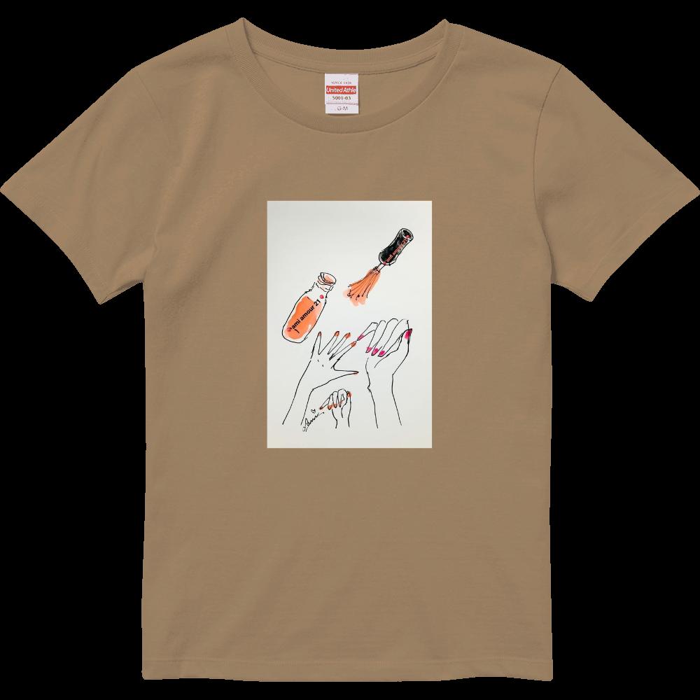 「はじめてのネイル」 ハイクオリティーTシャツ(ガールズ)