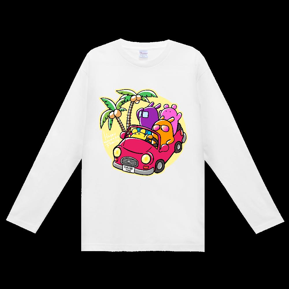 ゆる・り・たいむ オリジナルキャラクター 長袖Tシャツ(めんだこカー) ヘビーウェイト長袖Tシャツ