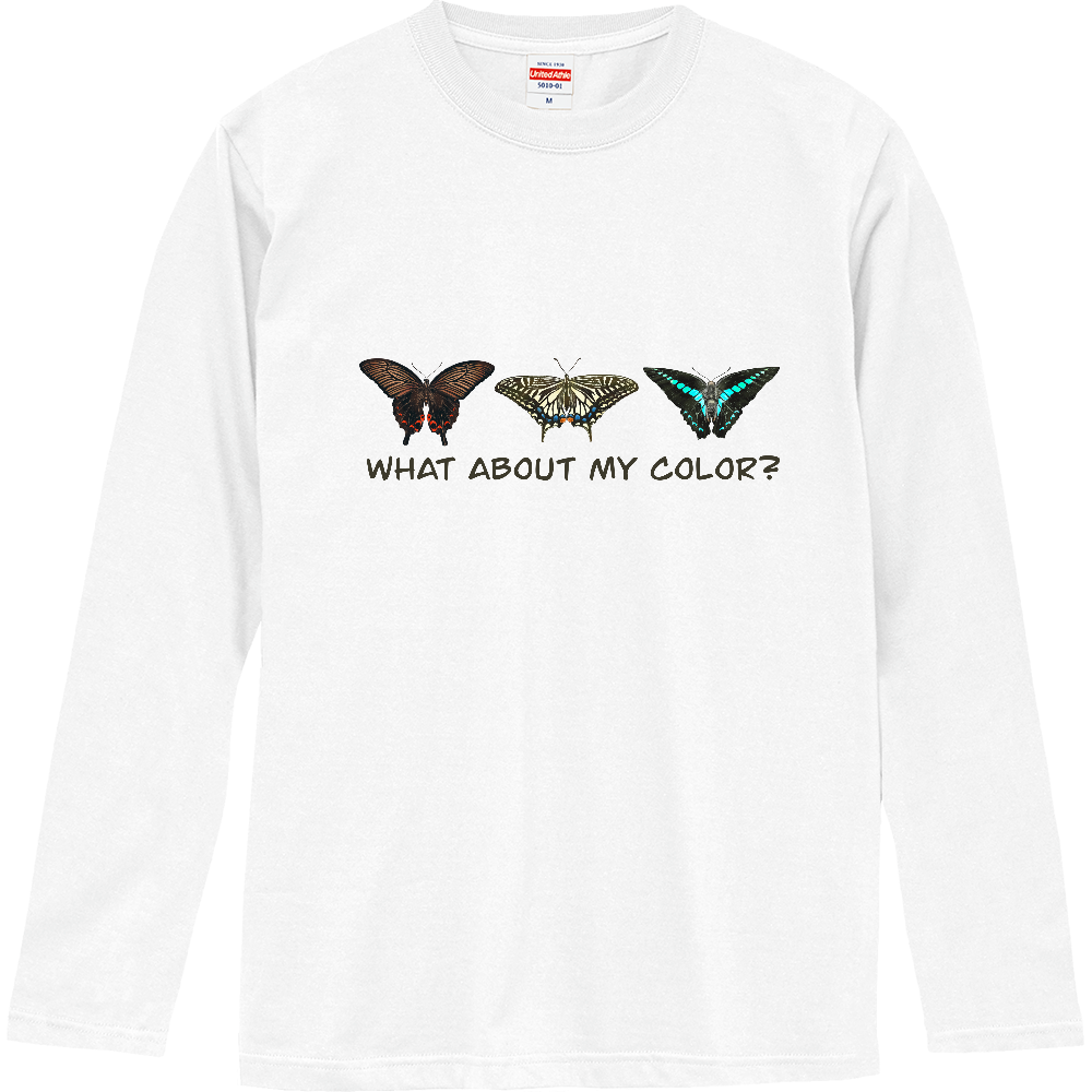 what about my color? ロングスリーブTシャツ
