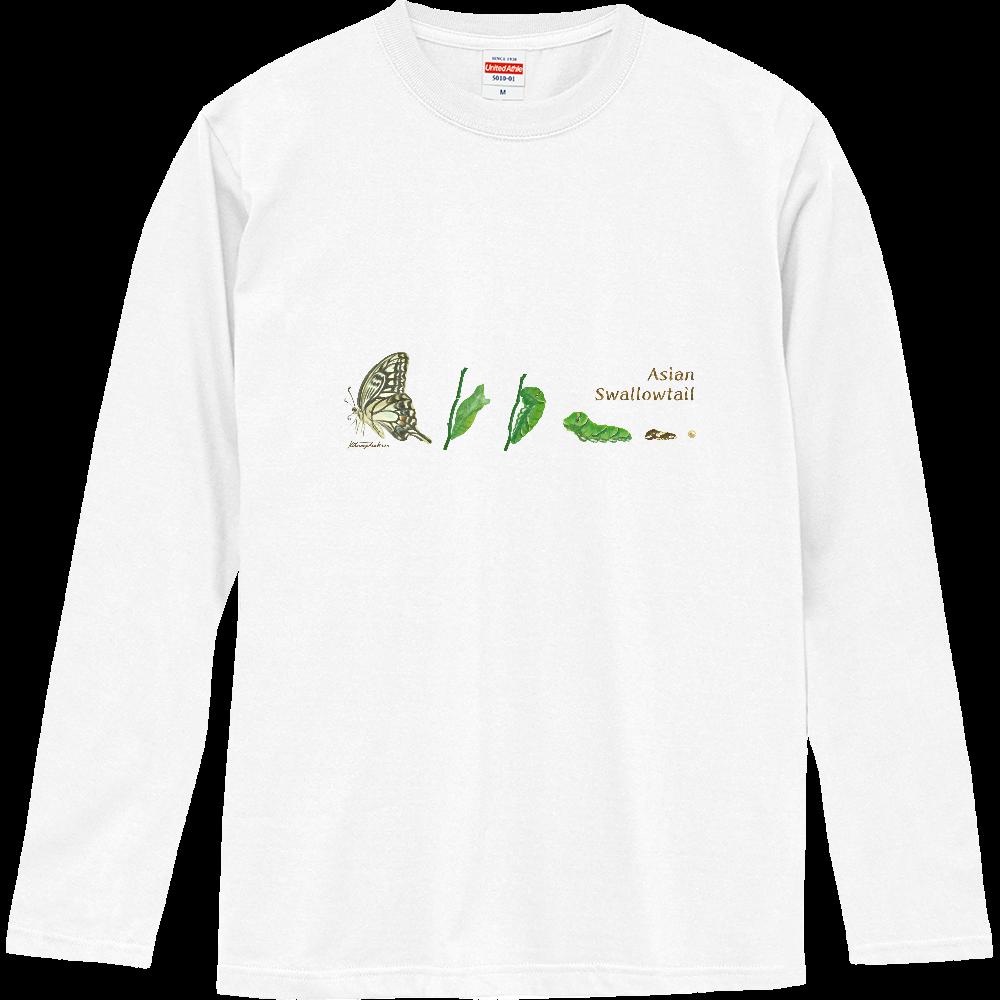 Asian Swallowtail ロングスリーブTシャツ
