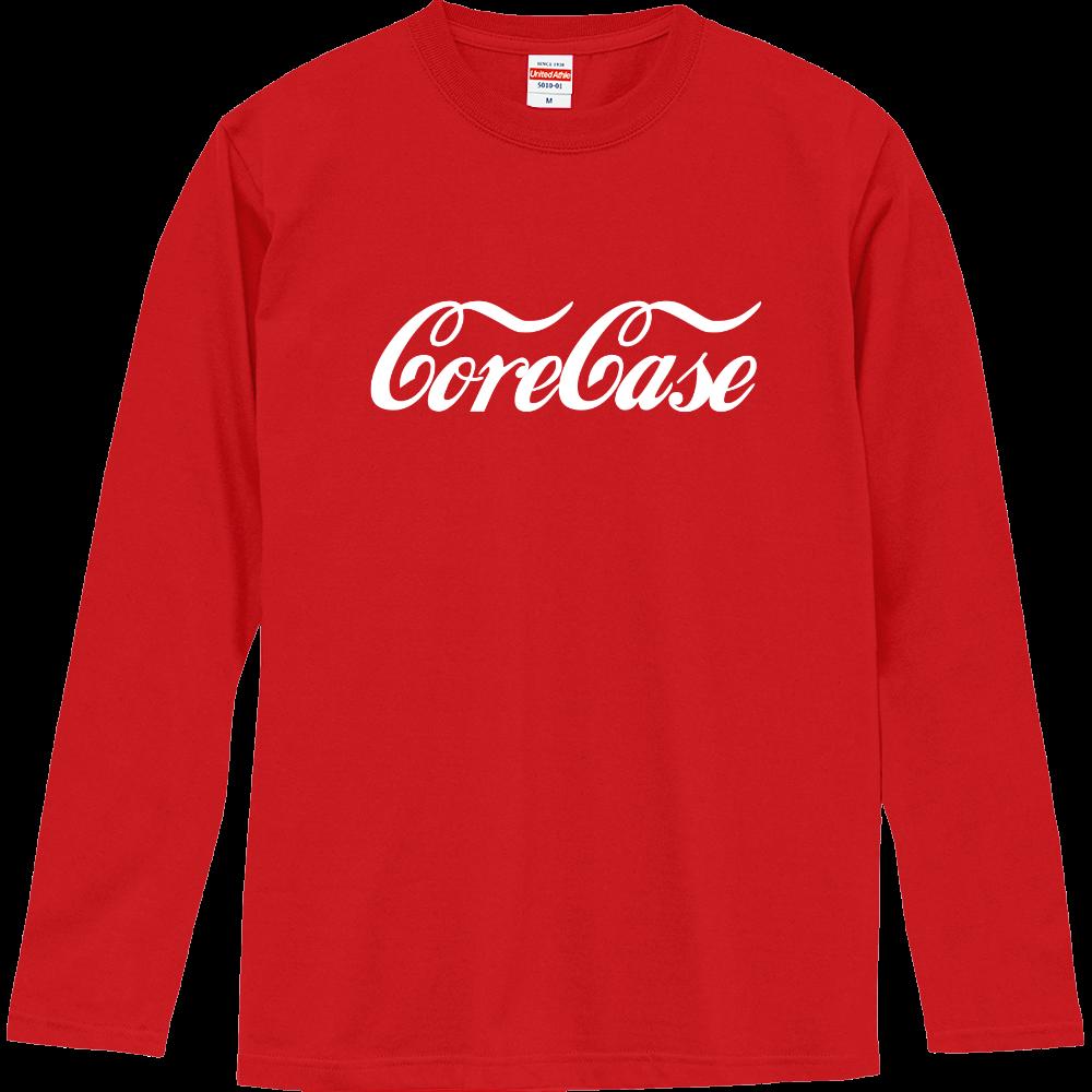 おもしろロングTシャツ パロディ コカ・コーラ風 かわいい ロングスリーブTシャツ