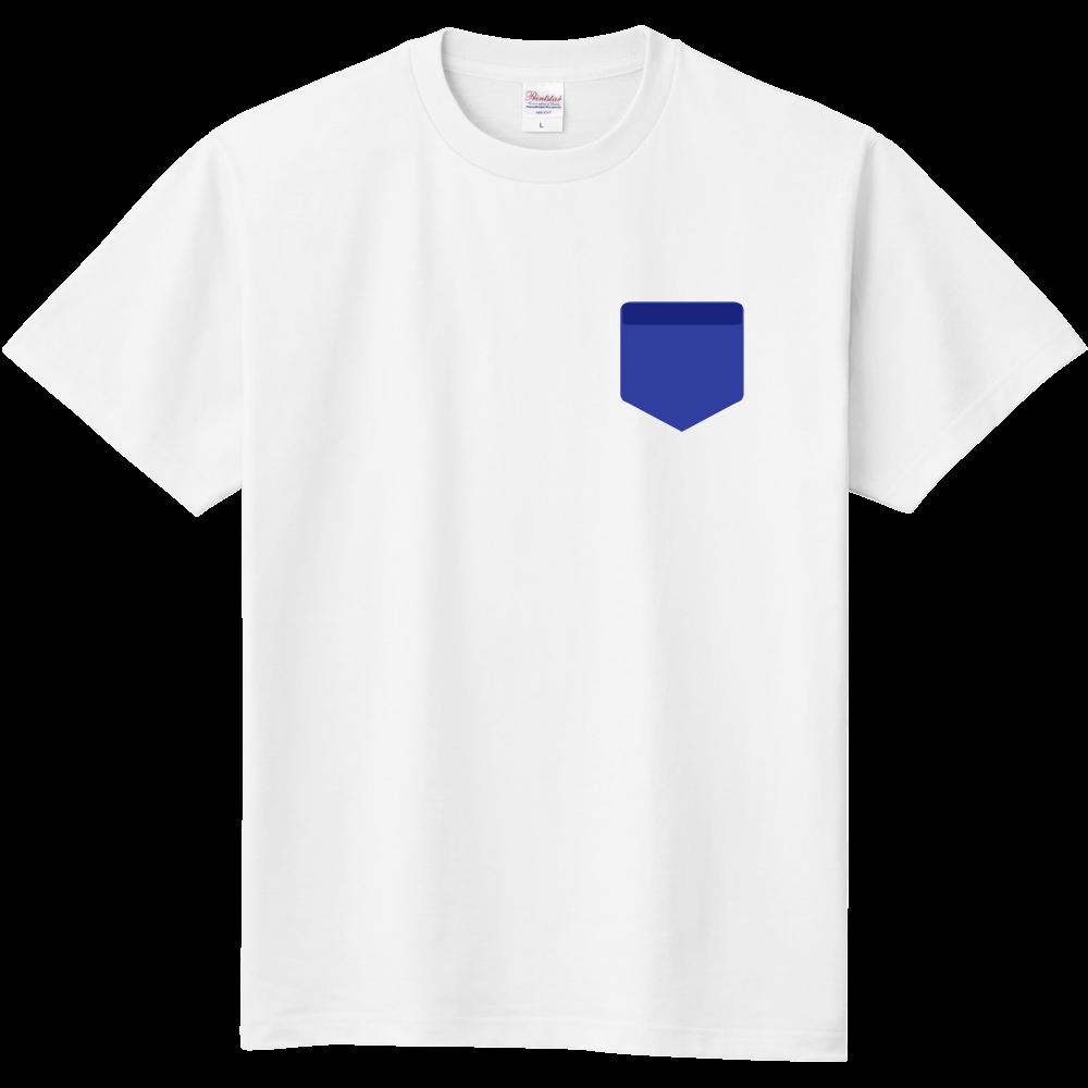 おもしろTシャツ ポケット風プリント フェイクTシャツ メンズ レディース キッズ 定番Tシャツ