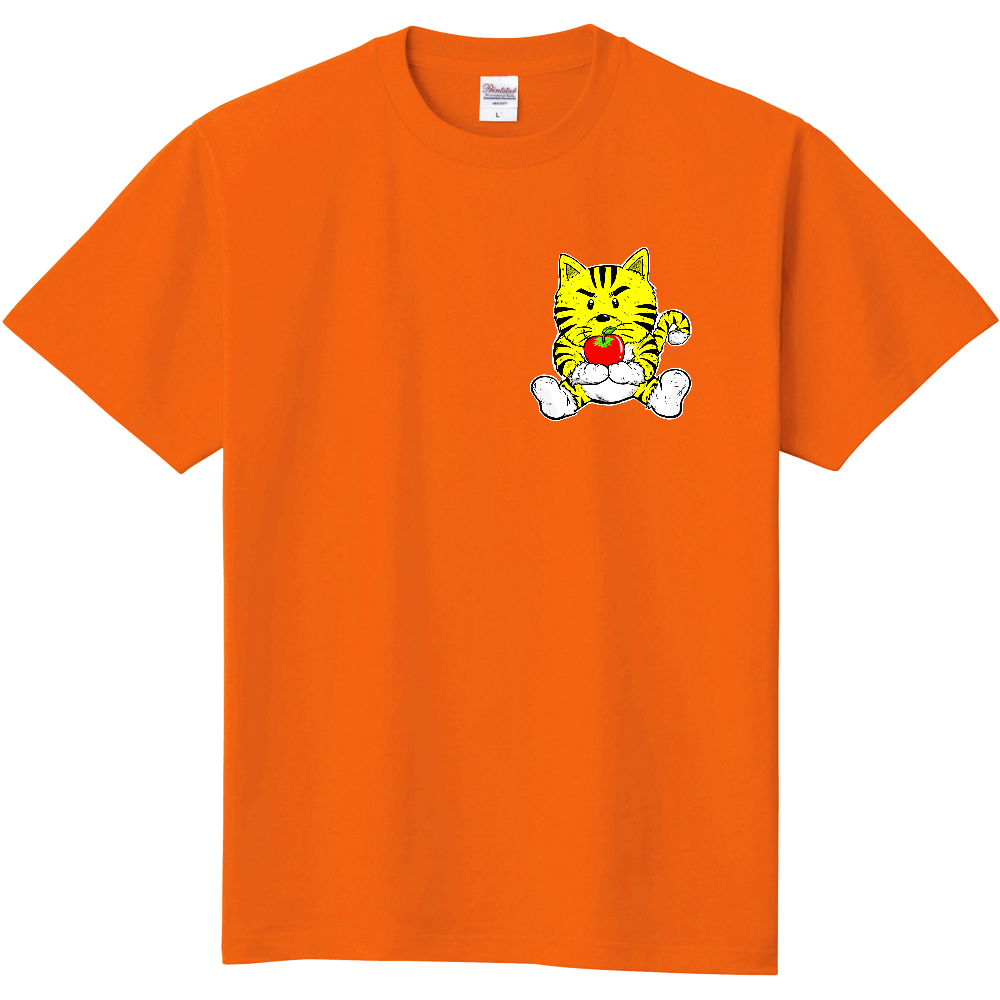 TORA りんご  黄色 定番Tシャツ