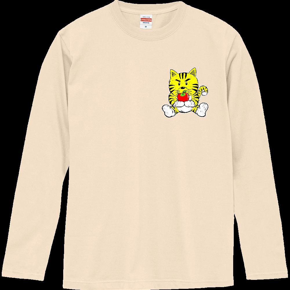 TORA りんご  黄色 ロングスリーブ ロングスリーブTシャツ
