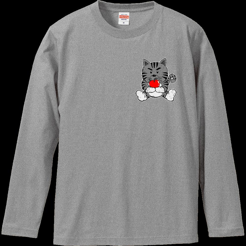 TORA りんご ロングスリーブ ロングスリーブTシャツ