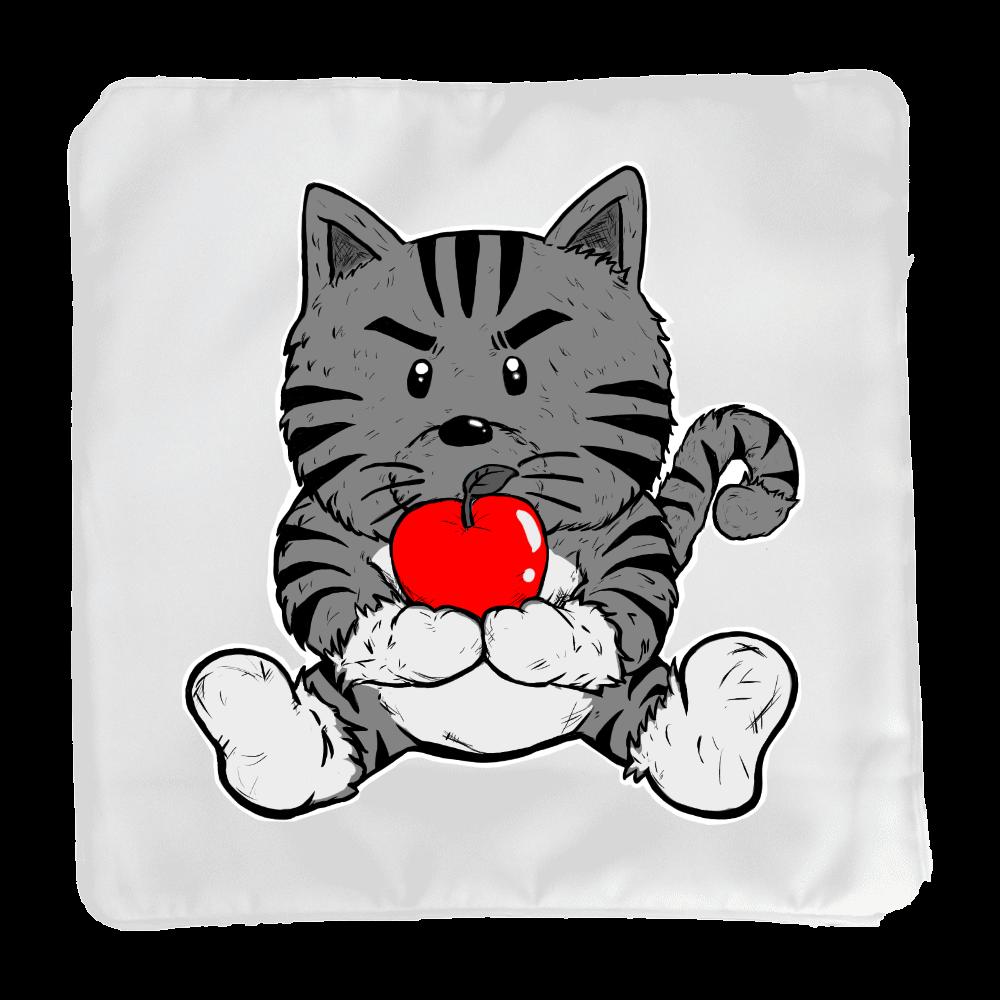 TORA りんご クッション。グレー クッション(小)