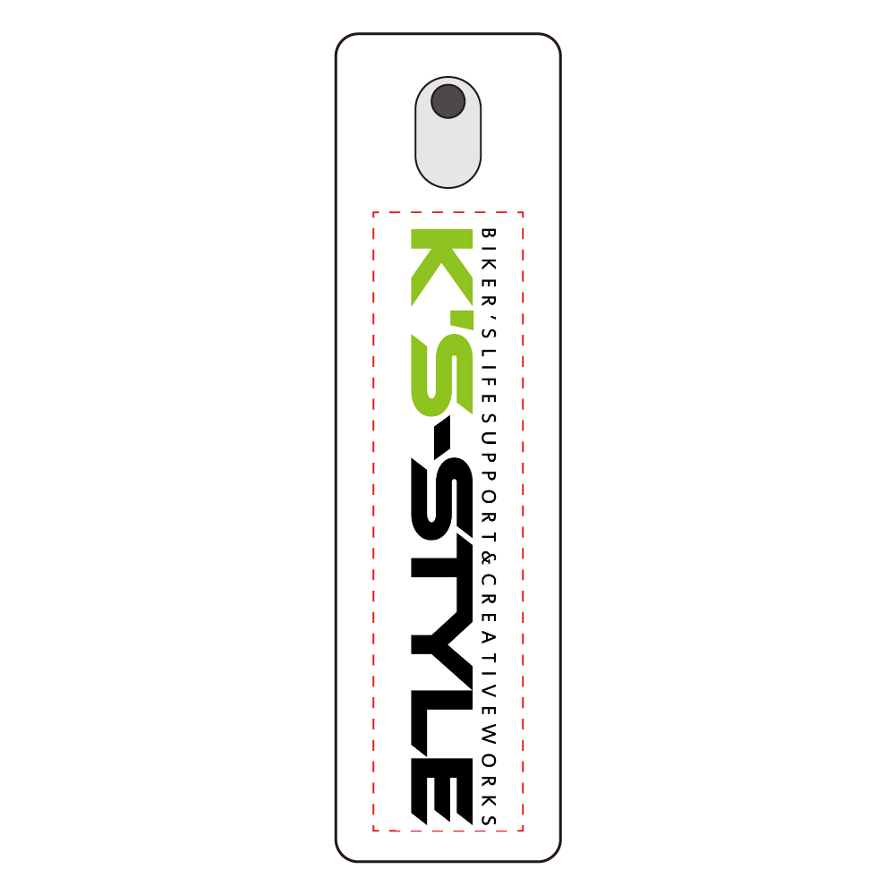 K's-STYLE Logo入りスプレーボトル(白) 携帯用スプレーボトル