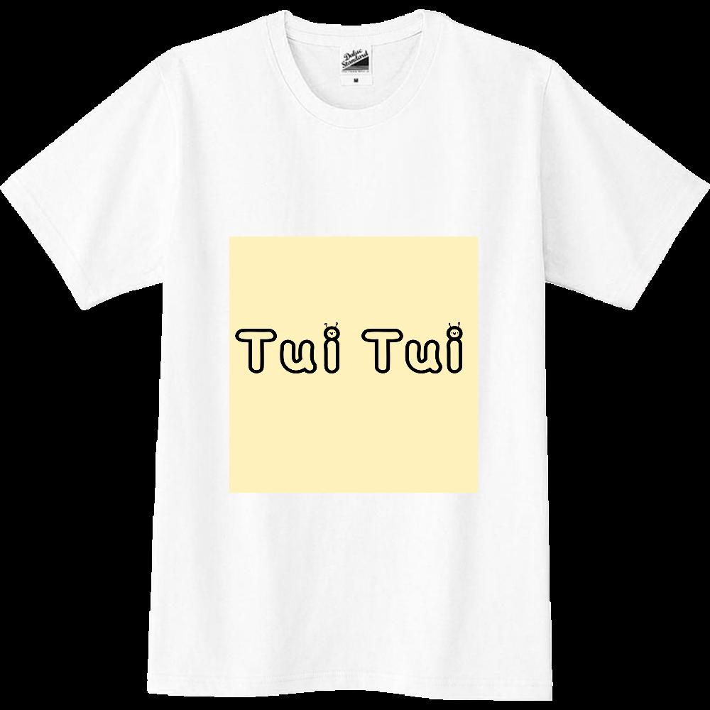 ついつい ロゴTシャツ スリムTシャツ