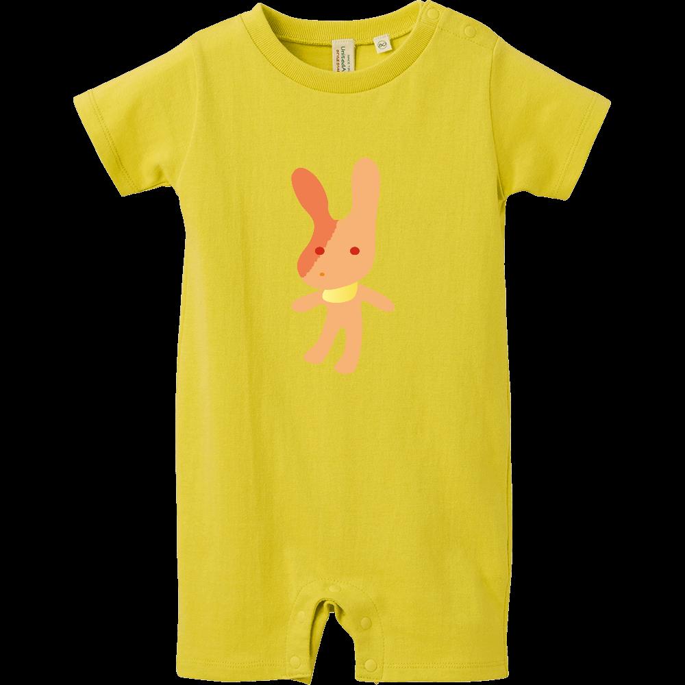 ウサギ ロンパース ウサギ ベイビーロンパース