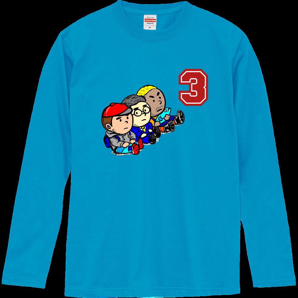 3 Brothers ロングスリーブTシャツ  ロングスリーブTシャツ