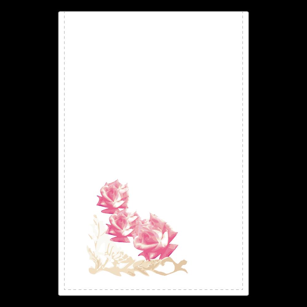 花 ミラー 花 ソフトレザーミラー