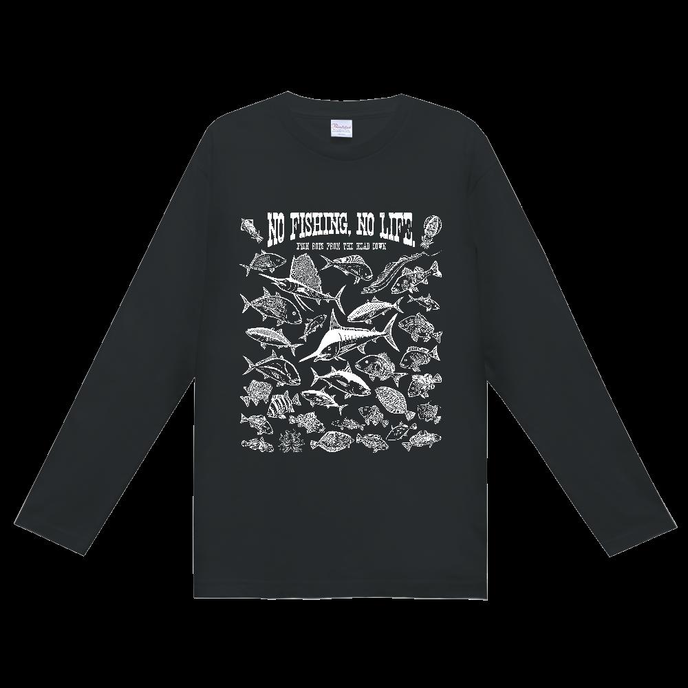 SALTWATER FISH_3W ヘビーウェイト長袖Tシャツ