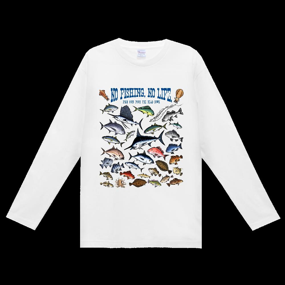 SALTWATER FISH_3CW ヘビーウェイト長袖Tシャツ