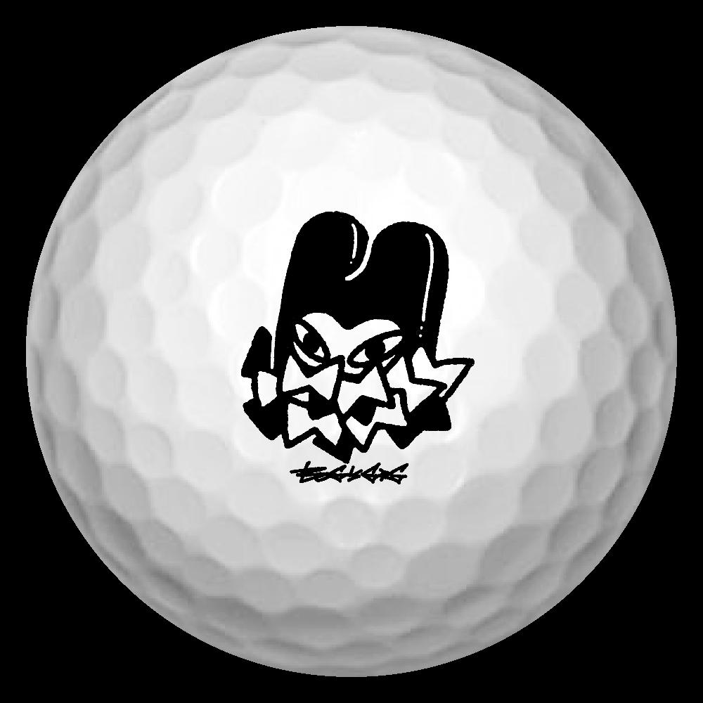 リボン葬 ゴルフボール(3個セット)