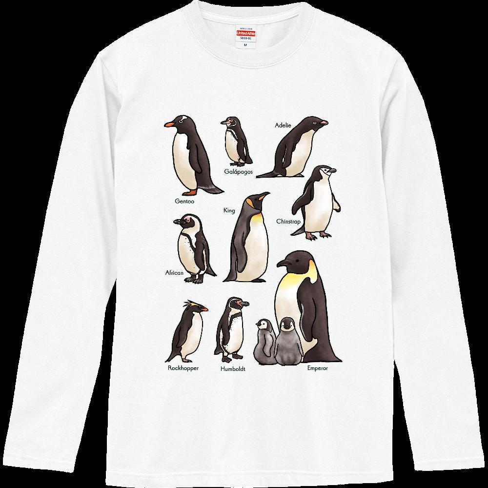 ペンギンだらけ ロングスリーブTシャツ