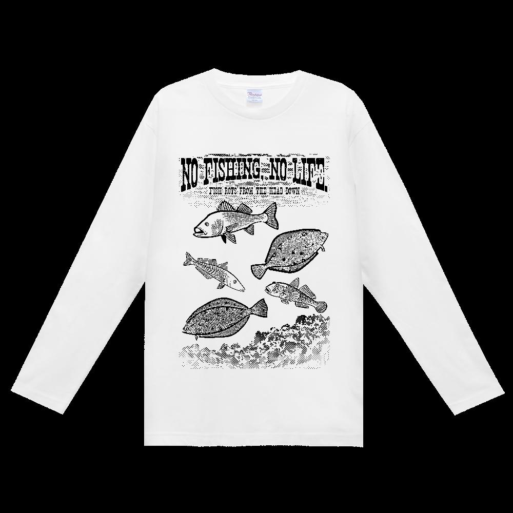 SALTWATER FISH_S1_K ヘビーウェイト長袖Tシャツ