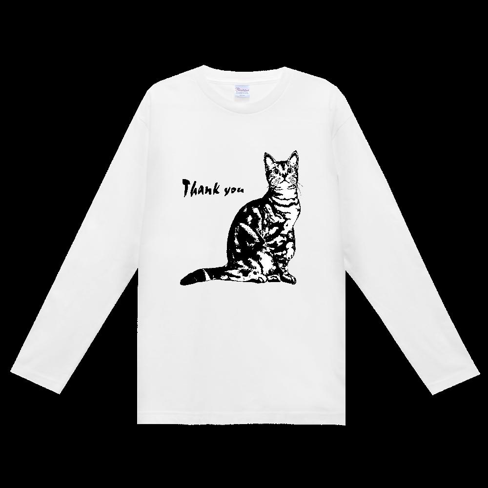 CAT_9 ヘビーウェイト長袖Tシャツ