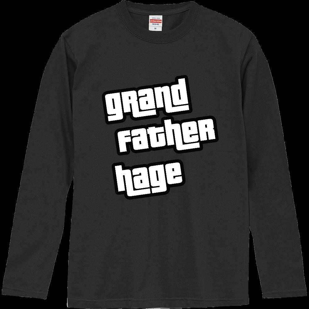 おもしろロングTシャツ グランド・セフト・オート風 パロディ ネタT ロングスリーブTシャツ