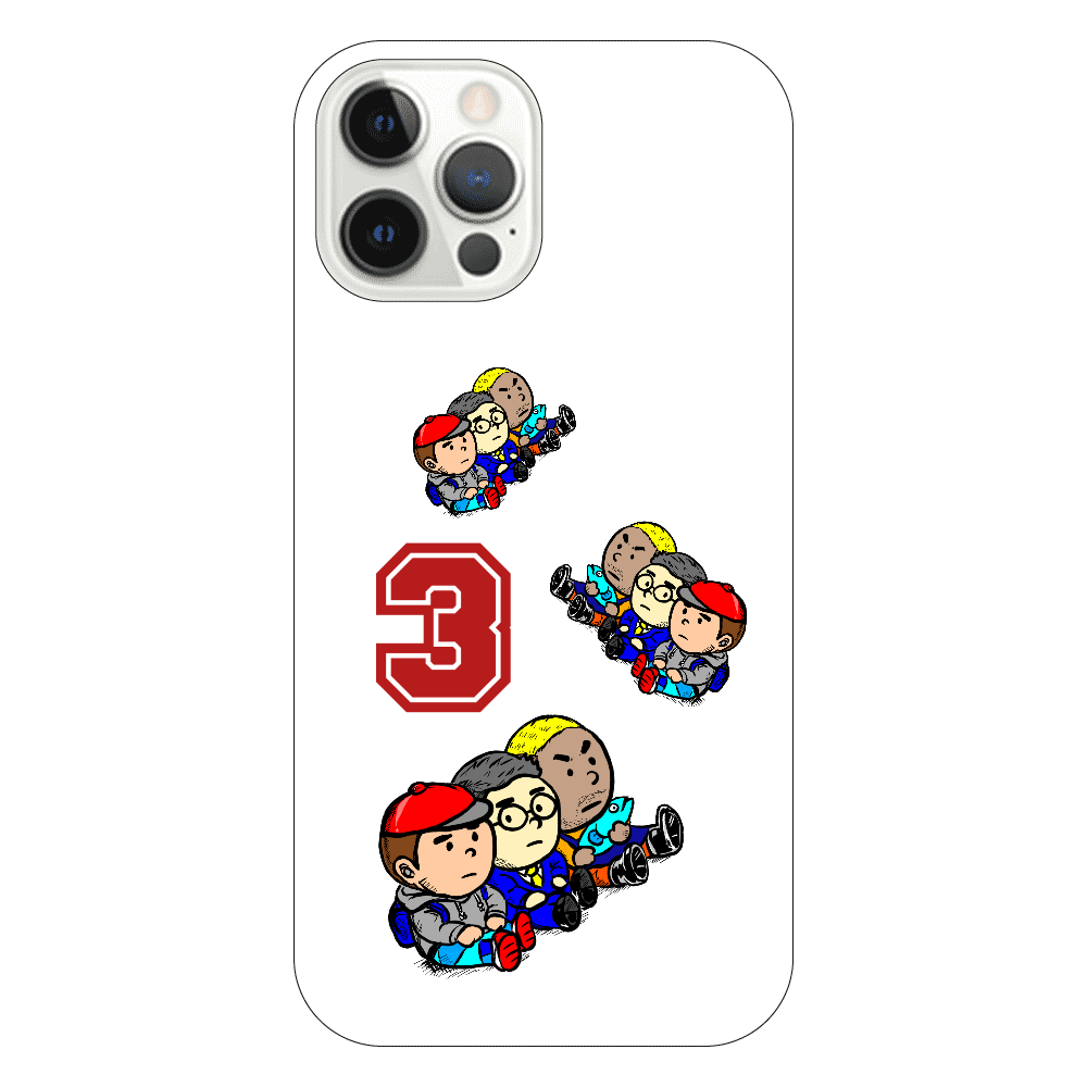 3 Brothers iPhoneケース 12pro iPhone12 Pro