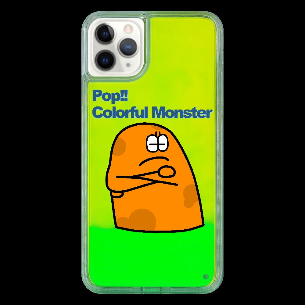 ポップ!!カラフルモンスターvol.7 iPhone11 ProMax ネオンサンドケース