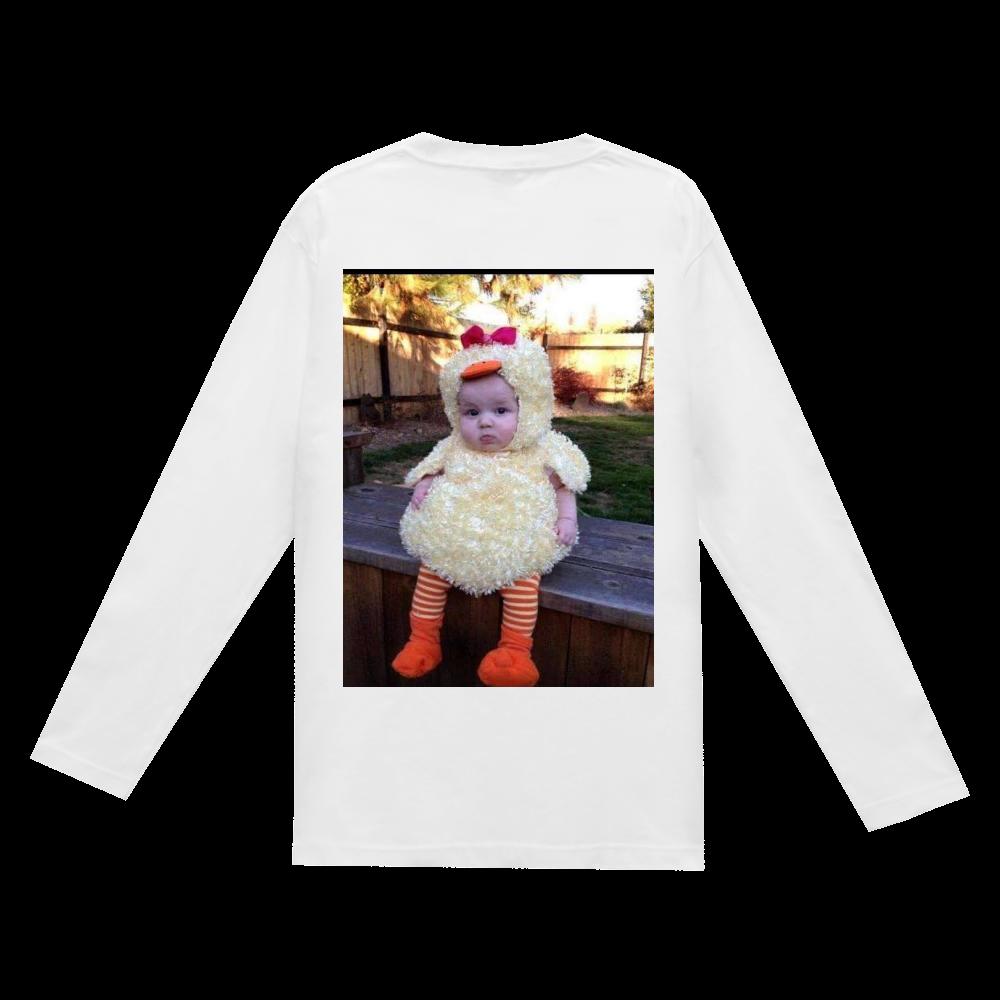 「2021年3月14日 07:07」に作成したデザイン ヘビーウェイト長袖Tシャツ