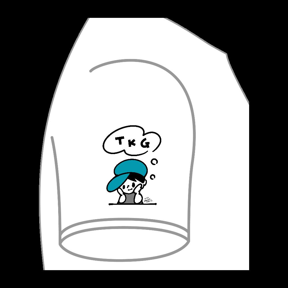 TKGポケットTその2 ビッグシルエットTシャツ(ポケット付)