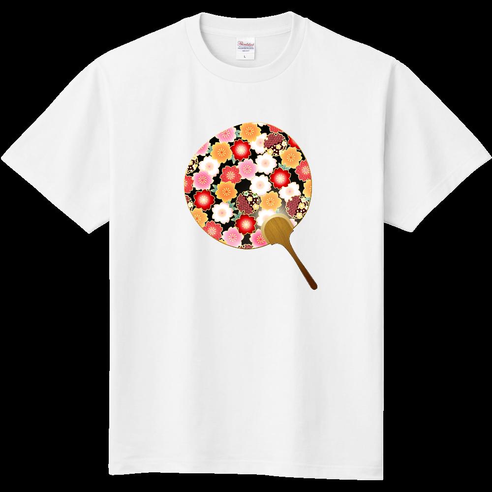 おもしろTシャツ 内輪 涼しい気分で過ごそう4 メンズ レディース 定番Tシャツ