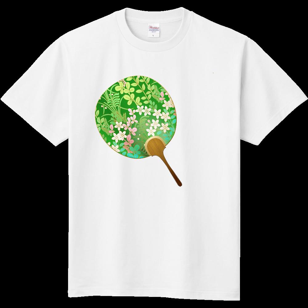 おもしろTシャツ 内輪 涼しい気分で過ごそう5 メンズ レディース 定番Tシャツ