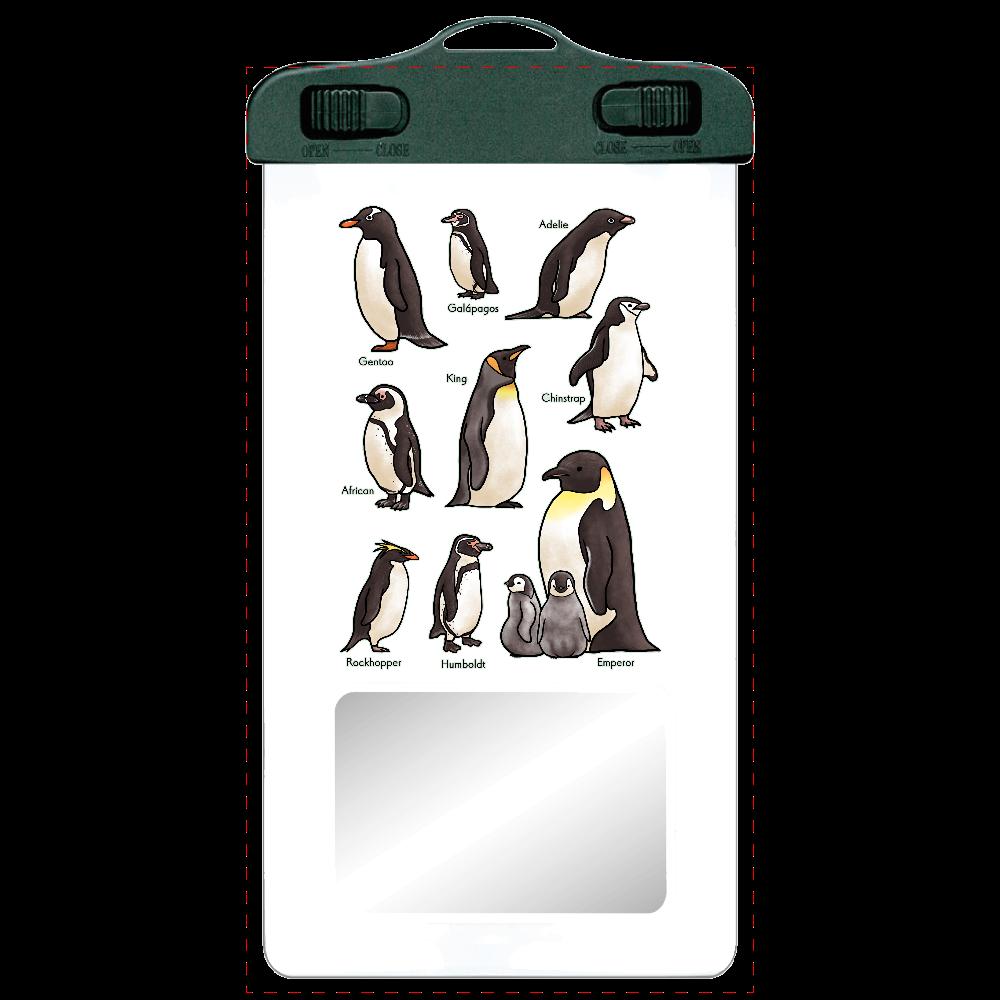 ペンギンだらけ SPC06(防水スマホケース)