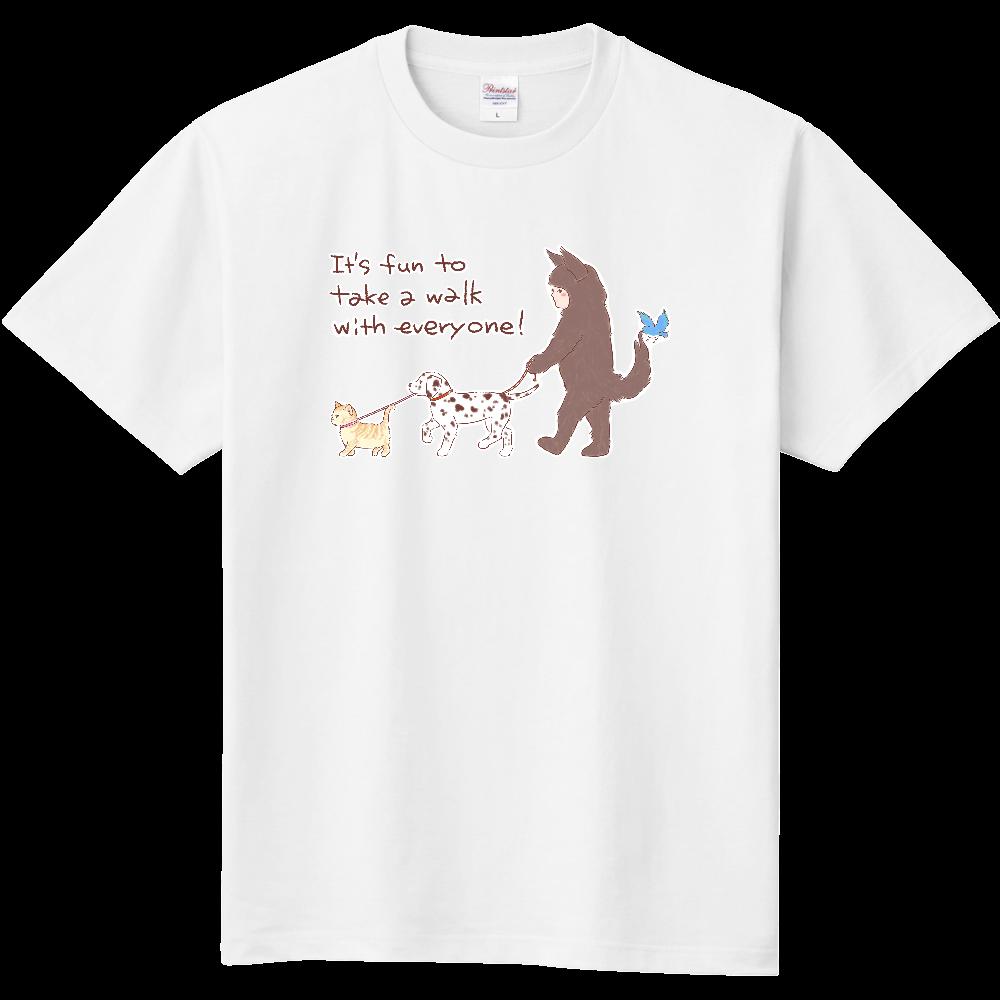 お散歩しよう! 定番Tシャツ