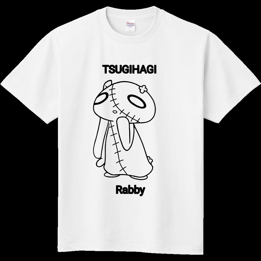 つぎはぎラビーTシャツ(両面印刷ver.) 定番Tシャツ