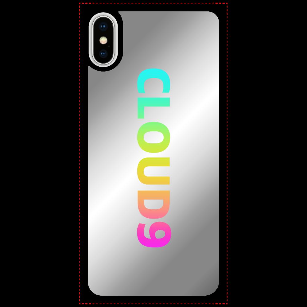 最高にいい気分のiphoneケース iPhoneX/Xsミラーパネルケース